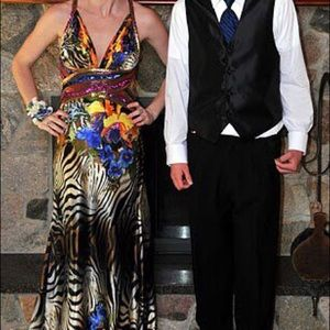 Cache Prom Dress - perfect condition! Size 4